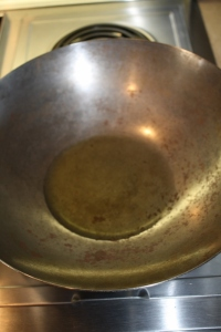 Oiled Wok